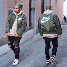 Air Tokyo Bomber Jacket - Olive Green