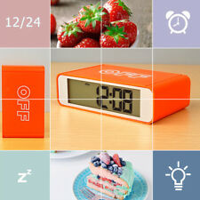 Tabletop Bedside Travel Clock 3 Group Alarm Clock Snooze Charging 5/7 Work
