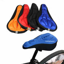 Bicycle Cushion Cover Silicone Seat Saddle Cycling Bike Saddle Soft Gel 3D Pad