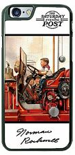 Norman Rockwell Future Fire Fighter Phone Case Cover for iPhone Samsung LG iPod