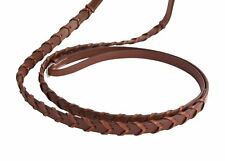 Huntley Equestrian Sedgwick Leather Fancy Stitched Square Raised Laced Reins