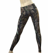 Camo Camouflage Hunting Pants Fold Over/Low Rise Legging SXYFITNESS MADE IN USA