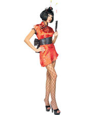 Women's Deluxe Sexy Japanese Lady Geisha Adult Costume