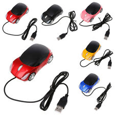 USB Durable 1000DPI Wired Car Shape Gaming Mouse For Desktop Computer Laptop AM1
