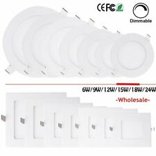 Dimmable 6-24W LED Recessed Ceiling Panel Down Lights Bulb Lamp F Indoor Home MX