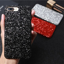 Luxury Bling Sparkle Glitter Diamond Hard PC Case Cover For iPhone  X 6s 8 Plus