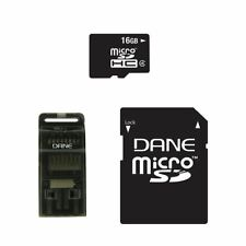 Mobile Junkie 16GB Micro SD memory card 3-in-1 Mobile Kit with adapter and USB a
