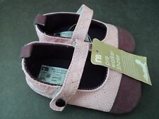 GIRLS MOTHERCARE PINK/MAROON MARY JANE STYLE NON-SLIP SHOES,3 SZS AVAILABLE