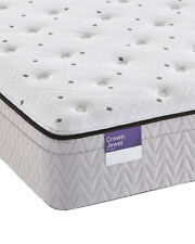 Sealy Crown Jewel Value Euro Pillowtop Plush Scallop Pearl Mattress