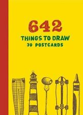 642 Things to Draw: 30 Postcards by Chronicle Books (2016, Postcard Book or...