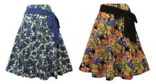 New Vintage Style 1930's 1940's Retro WW2 Wartime Floral Summer skirt