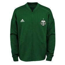 adidas Portland Timbers Youth Green Crest Anthem Full-Zip Jacket
