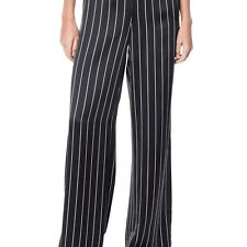 NEW CAMI NYC WOMENS THE LAURA PANT BLACK STRIPE