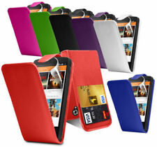 Leather Effect Flip Case Cover & Screen Protector for LG Nexus 5