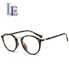 LE Leopard Prescription Glasses Optical Eyewear Rx Prescription Ultra Light Oval