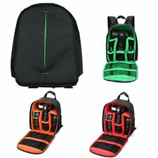 Multifunction Large Camera Backpack Bag For Canon Nikon Sony DSLR LOT BS