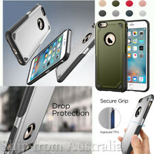 For Apple iPhone 6s Armor Rugged Hybrid Shockproof Rubber Hard Phone Case Cover