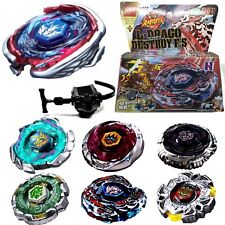4D Fusion Top Metal Master Rapidity Fight Rare Beyblade Launcher Grip Game BUS