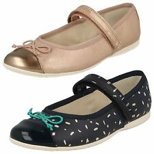 Girls Clarks Ballet Style Shoes Dance Mad