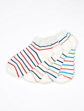 1Pair Womens Low Cut Ankle Socks 4 kinds of Cute Striped Casual st Soft Cotton