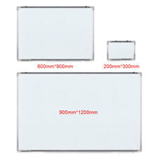 UK Large Magnetic Whiteboard Dry Wipe Drawing Board Office School Notice Memo