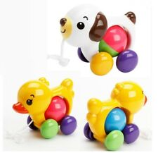 Cute Pull Toy Outdoor Little Duck Puppy Infant Toddler Rope Kid Rattles Stroller