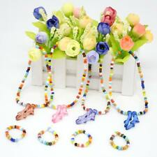 Colorful Beads Necklace Bracelet Jewelry for 18'' American Girl Doll Clothes