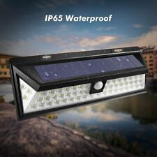 54 LED Solar Power PIR Motion Sensor Wall Light Outdoor Waterproof Garden Lamp