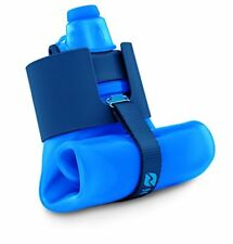 Nomader Sturdy Collapsible Water Bottle w/ Leak Proof Twist Cap BPA Free 22 oz