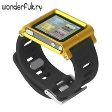 Wonderfultry Aluminum Bracelet Watch Band Wrist Cover Case for iPod Nano 6 6th G