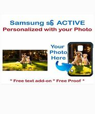 Custom Phone Case Cover with Your Pic Photo FITS Samsung Galaxy S6 ACTIVE