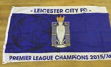 Leicester City Football Club Premier Champions Flag  2015/16