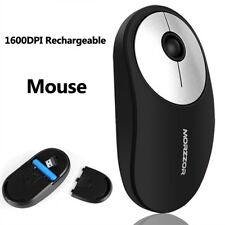 Nano USB Wireless Optical Gaming Mouse 1600dpi Rechargeable Mice For PC Laptop