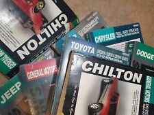 Chilton's Manual Buick Pontiac Chevy Jeep Toyota Ford Mercury Volkswagen Dodge