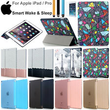 For New iPad/iPad Pro 2017 Flip PU Leather Ultra Thin Magnetic Smart Cover Case