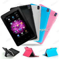 XGODY Tablet PC 9'' 16GB Android 4.4 Quad Core 2xCamera Touchscreen Black/White