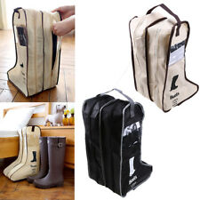 Foldable Storage Organizer Bag Container Boots Shoes Pop Boot Shoe Protector Bag