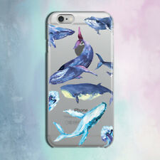 For iPhone 8 Case Silicone Case iPhone 8 Plus Whales iPhone 6s Plus Art iPhone 7