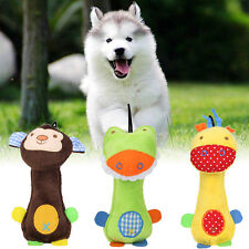 Funny Pet Dog Cat Toys Pet Puppy Chew Squeaker Squeaky Plush Sound  Toys.