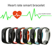 IP67 Waterproof Heart Rate Blood Pressure Fitness Tracker Sport Smart Watch AU