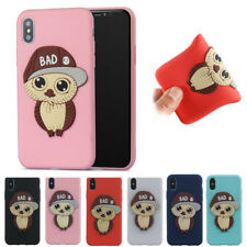 3D Boy Owl Cute Soft Silicone Phone Case Cover Skin Shell For MOTO G5  E4  C