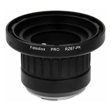 NEW FOTODIOX MOUNT ADAPTER FOR MAMIYA RZ67 LENS TO PENTAX K MOUNT CAMERA