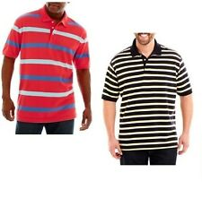 The Foundry Supply Mens Big Tall Polo Shirt Striped size 2XL 3XLT NEW