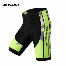 Mens Cycling Shorts 4D Gel Padded Breathable Tights MTB Mountain Bike Bicycle