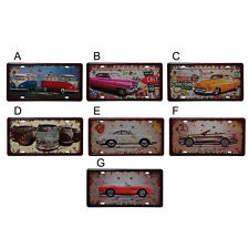 15×30cm Retro Car Patterns Club Style Metal Tin Signs Poster Home Bar Decor
