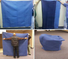 Moving Blankets 40x72 72x80 Furniture sliders 8pc