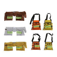 Reflective Pocket Bags Nail Tool Apron Carpenter Belt Rig Waist Tool Holder