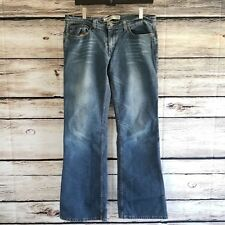 Express Boot Cut Jeans Womens Tall 12 Long Blue Stretched Denim