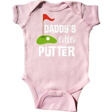 Inktastic Golfing Daddys Little Putter Infant Creeper Golf Golfer Sports Future