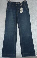 Arizona Juniors Super Flare Jeans Low Rise Wider Leg size 1 NEW